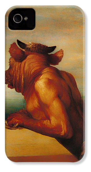 The Minotaur  IPhone 4 / 4s Case by Mountain Dreams