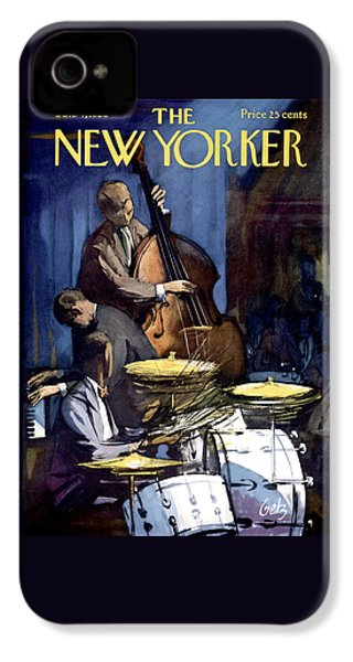 The New Yorker Cover - January 4th, 1958 IPhone 4 Case
