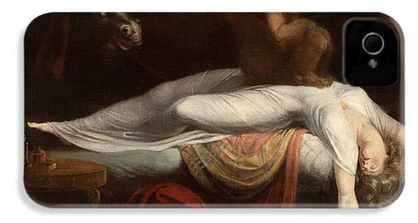 The Nightmare IPhone 4 / 4s Case by Henry Fuseli