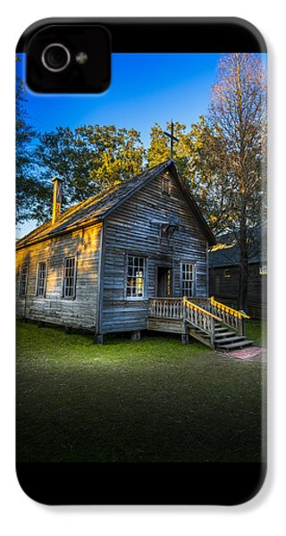 The Old Church IPhone 4 Case by Marvin Spates
