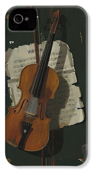 The Old Violin IPhone 4 Case
