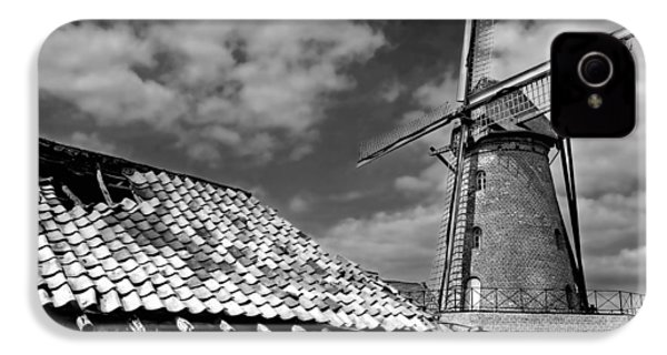 The Old Windmill IPhone 4 Case by Jeremy Lavender Photography
