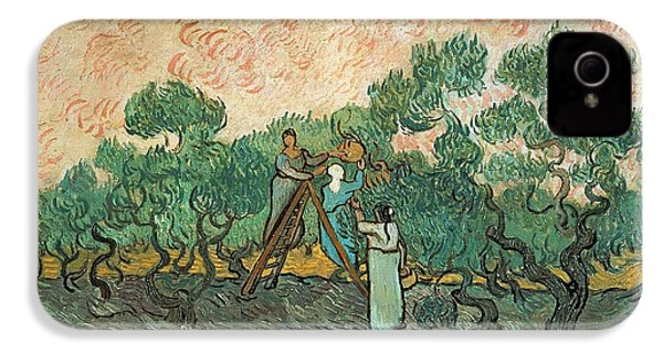 The Olive Pickers IPhone 4 Case by Vincent van Gogh