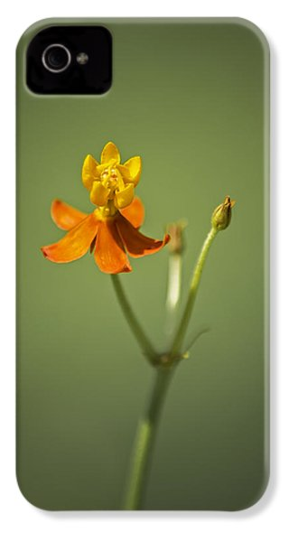 The One - Asclepias Curassavica - Butterfly Milkweed IPhone 4 Case