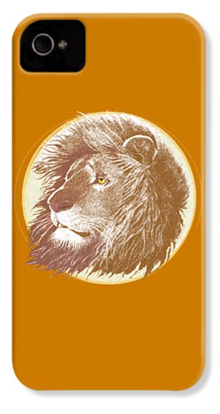 The One True King IPhone 4 Case by J L Meadows