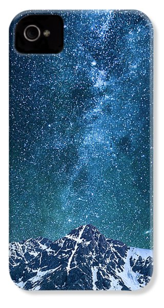 IPhone 4 Case featuring the photograph The One Who Holds The Stars by Aaron Spong