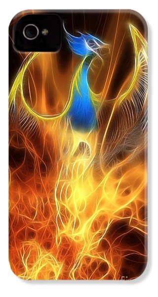 The Phoenix Rises From The Ashes IPhone 4 Case