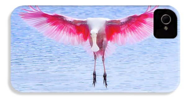 The Pink Angel IPhone 4 Case by Mark Andrew Thomas