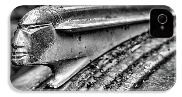 The Pontiac Chief In Black And White IPhone 4 Case by JC Findley