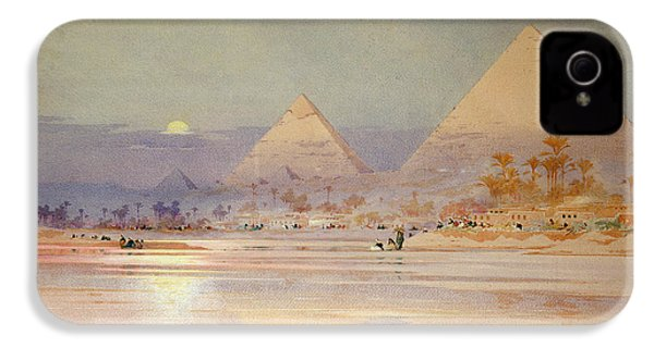 The Pyramids At Dusk IPhone 4 / 4s Case by Augustus Osborne Lamplough