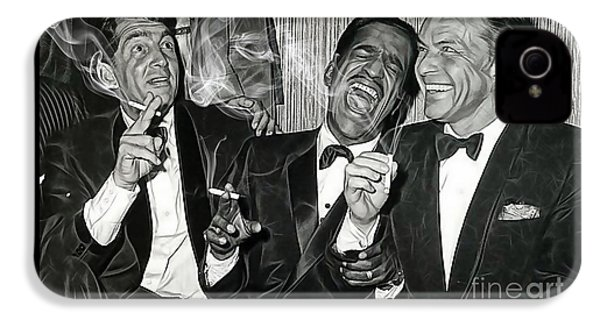 The Rat Pack Collection IPhone 4 Case by Marvin Blaine