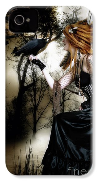 The Raven IPhone 4 Case by Shanina Conway