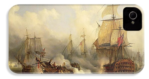 Unknown Title Sea Battle IPhone 4 Case