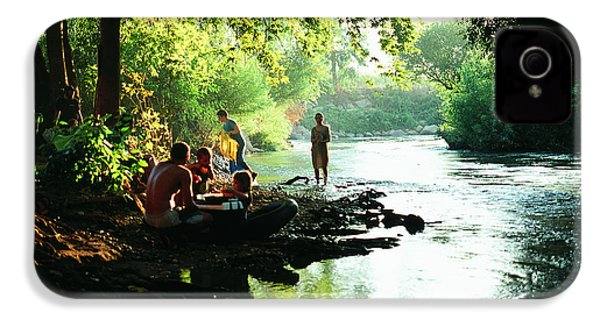 IPhone 4 Case featuring the photograph The River by Dubi Roman