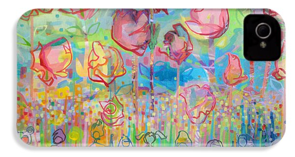 The Rose Garden, Love Wins IPhone 4 Case by Kimberly Santini
