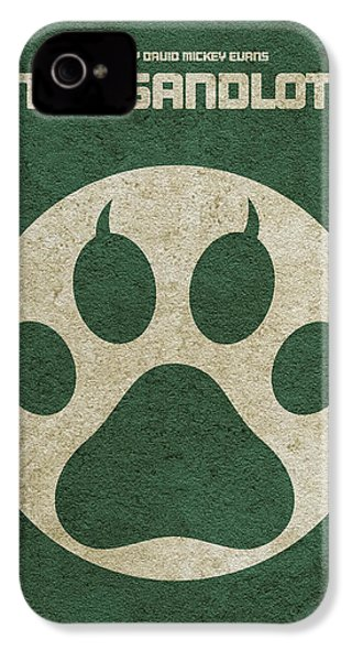 The Sandlot Alternative Minimalist Movie Poster IPhone 4 Case by Ayse Deniz