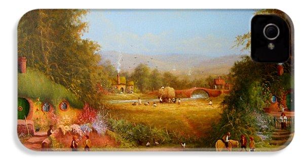 The Shire. IPhone 4 Case by Joe  Gilronan