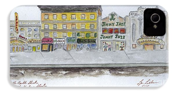 Theatre's Of Harlem's 125th Street IPhone 4 Case by AFineLyne
