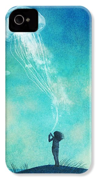 The Thing About Jellyfish IPhone 4 Case by Eric Fan