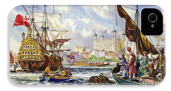 The Tower Of London In The Late 17th Century  IPhone 4 Case by English School