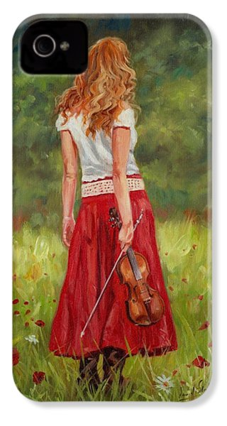 The Violinist IPhone 4 Case