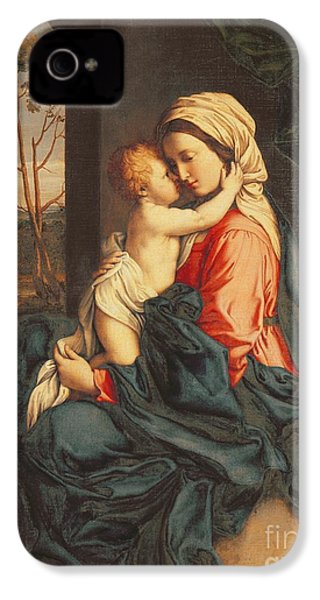 The Virgin And Child Embracing IPhone 4 Case