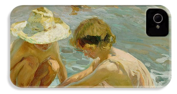 The Wounded Foot IPhone 4 Case by Joaquin Sorolla y Bastida