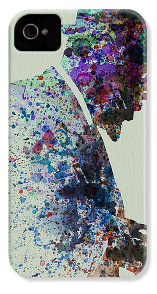Thelonious Monk Watercolor 1 IPhone 4 / 4s Case by Naxart Studio