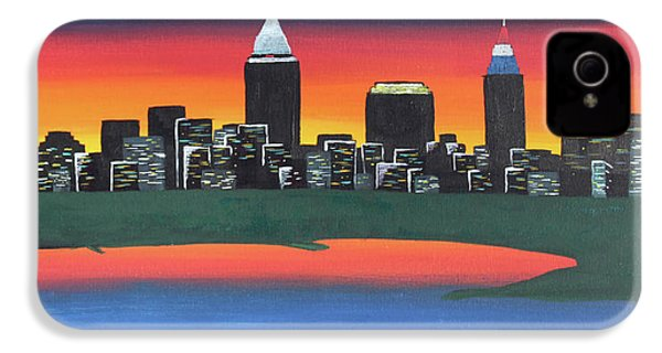 This Is Cle IPhone 4 Case by Cyrionna The Cyerial Artist