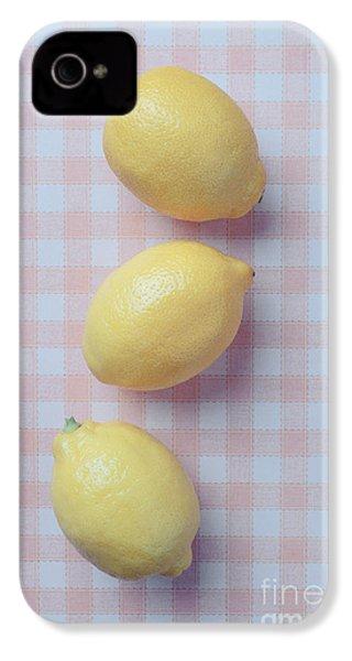 Three Lemons IPhone 4 / 4s Case by Edward Fielding