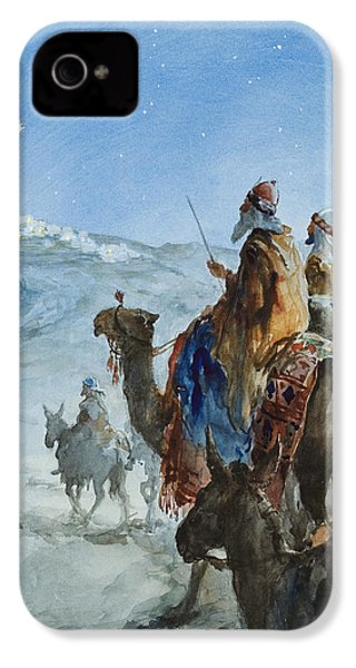 Three Wise Men IPhone 4 Case by Henry Collier