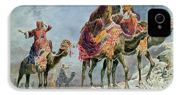 Three Wise Men IPhone 4 Case by Sydney Goodwin