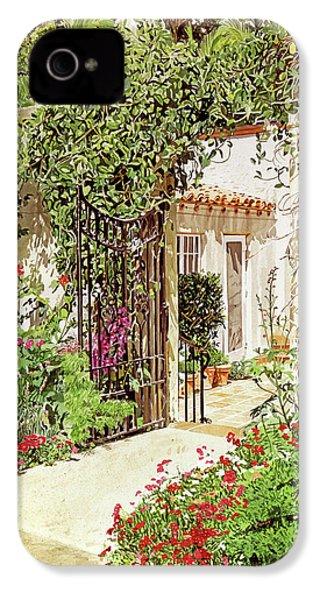 Through The Garden Gate IPhone 4 Case