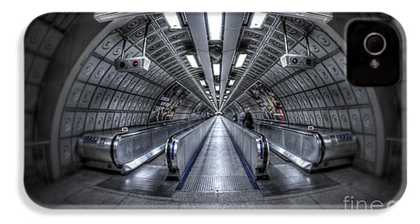 Through The Tunnel IPhone 4 Case by Evelina Kremsdorf