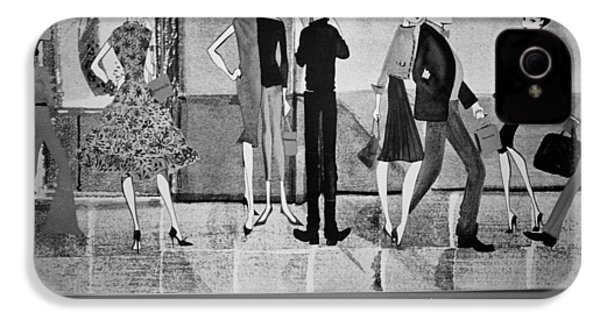 Tiffany Mural IPhone 4 Case by Dave Beckerman