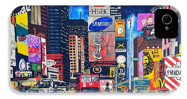 Times Square IPhone 4 Case