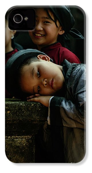 Tired Actor IPhone 4 Case by Werner Padarin