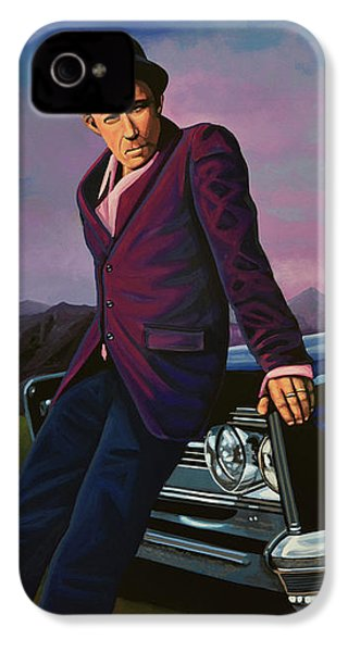 Tom Waits IPhone 4 Case by Paul Meijering