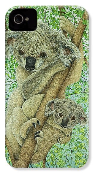 Top Of The Tree IPhone 4 Case by Pat Scott