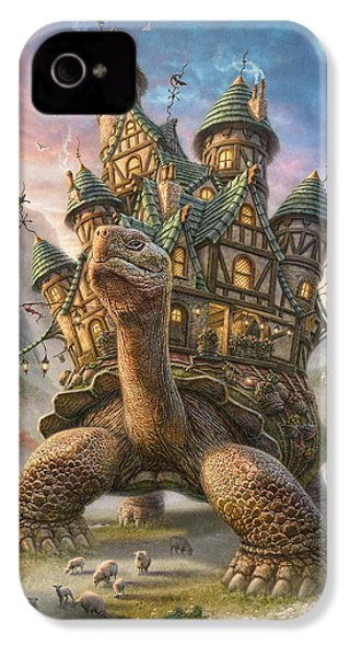 Tortoise House IPhone 4 / 4s Case by Phil Jaeger