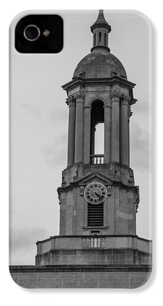 Tower At Old Main Penn State IPhone 4 Case by John McGraw