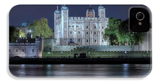 Tower Of London IPhone 4 Case by Joana Kruse