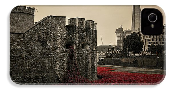 Tower Of London IPhone 4 Case by Martin Newman