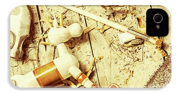 Toy Making At Santas Workshop IPhone 4 Case by Jorgo Photography - Wall Art Gallery
