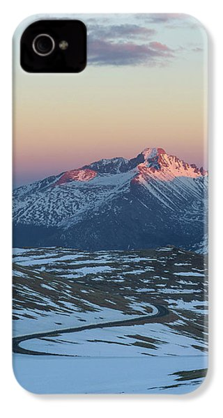 IPhone 4 Case featuring the photograph Trail Ridge Road Vertical by Aaron Spong