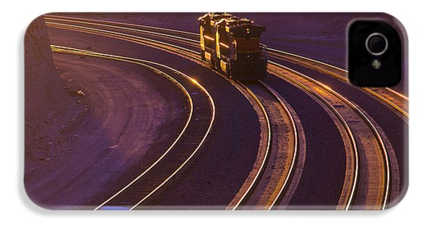 Train At Sunset IPhone 4 Case by Garry Gay