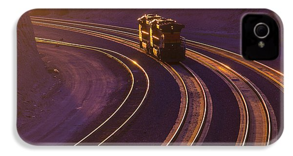 Train At Sunset IPhone 4 / 4s Case by Garry Gay