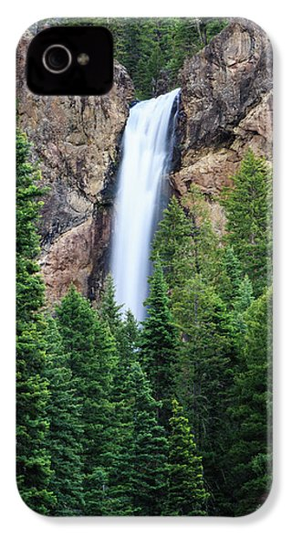 Treasure Falls IPhone 4 Case by David Chandler