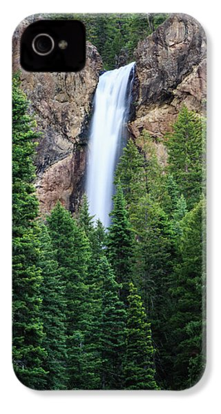 IPhone 4 Case featuring the photograph Treasure Falls by David Chandler
