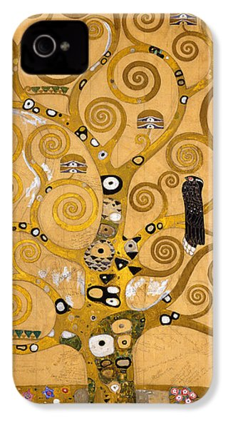 Tree Of Life IPhone 4 / 4s Case by Gustav Klimt